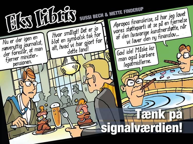 Tænk på signalværdien! af Mette Finderup og Sussi Bech