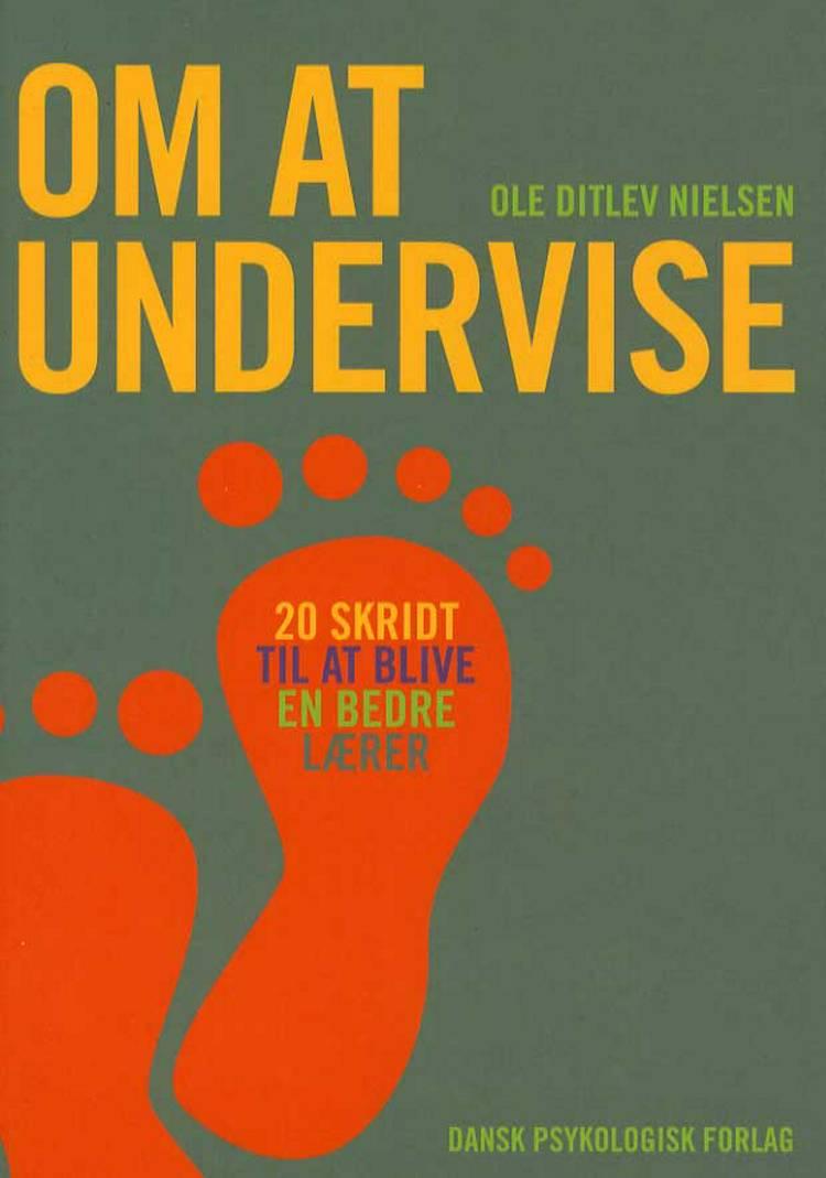 Om at undervise af Ole Ditlev Nielsen