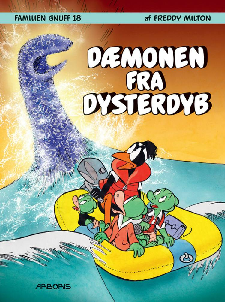 Dæmonen fra Dysterdyb af Freddy Milton