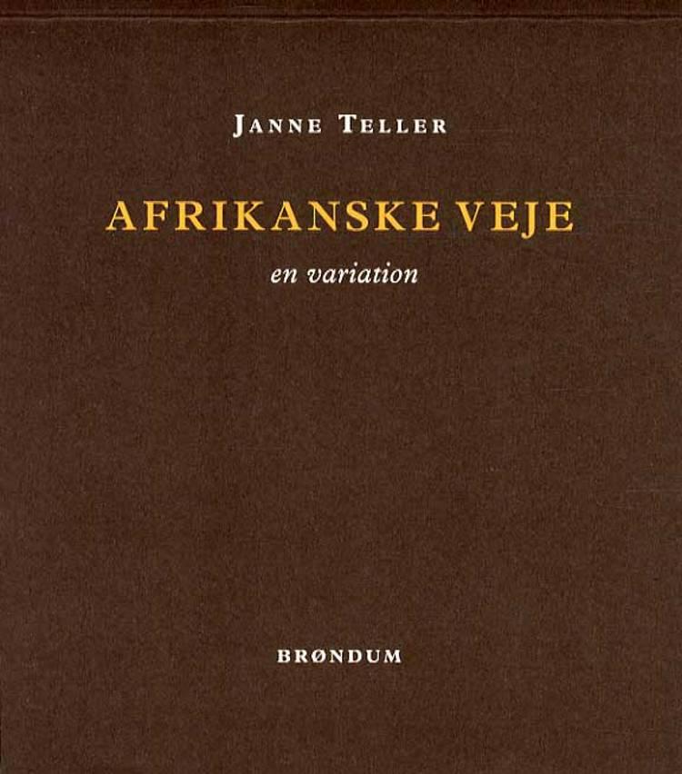Afrikanske veje af Janne Teller