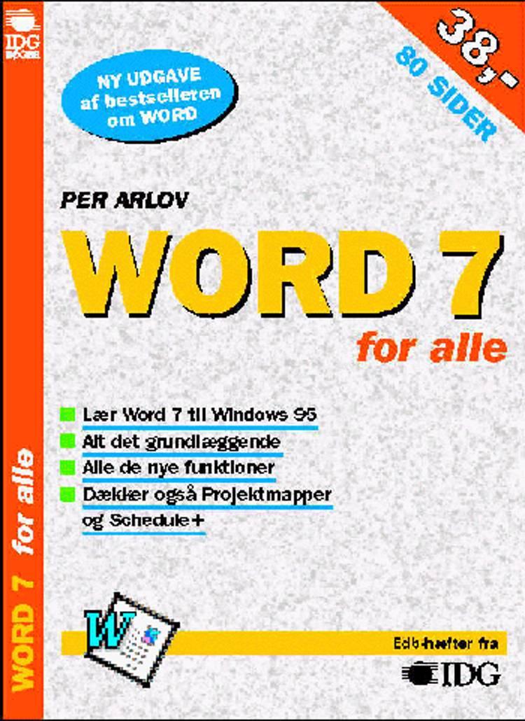Word 7 for alle af Per Arlov
