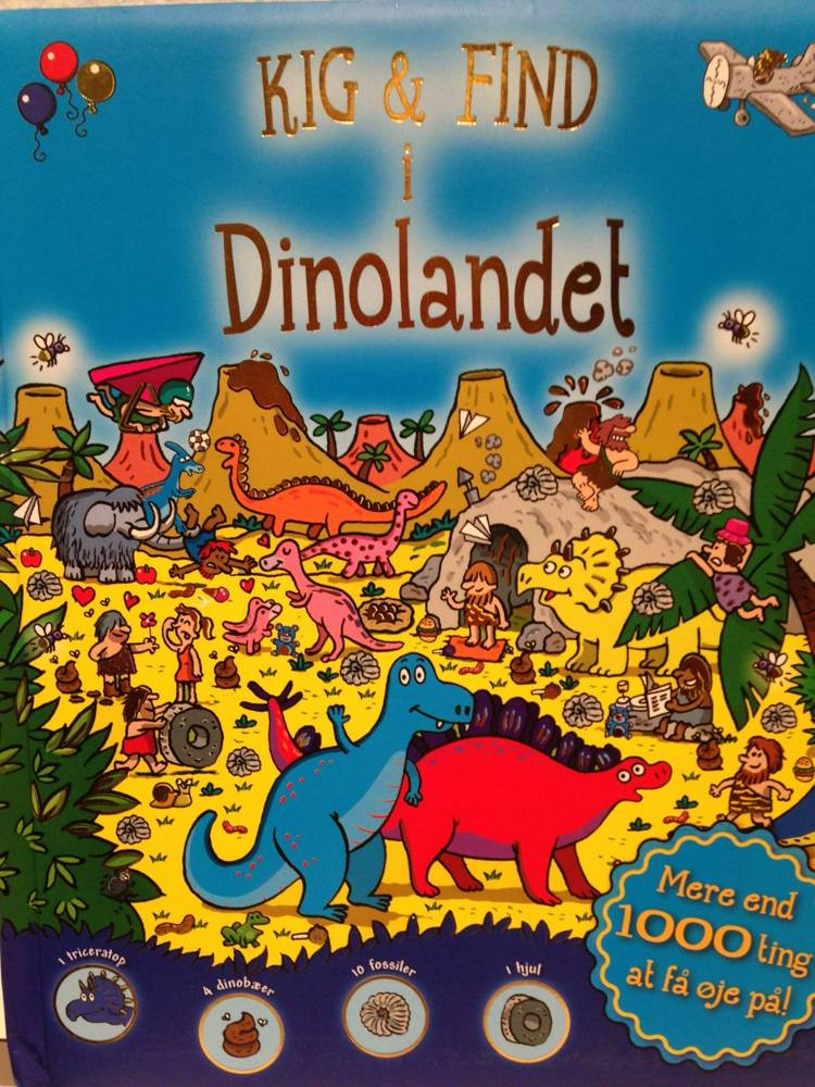 Kig & Find i Dinolandet
