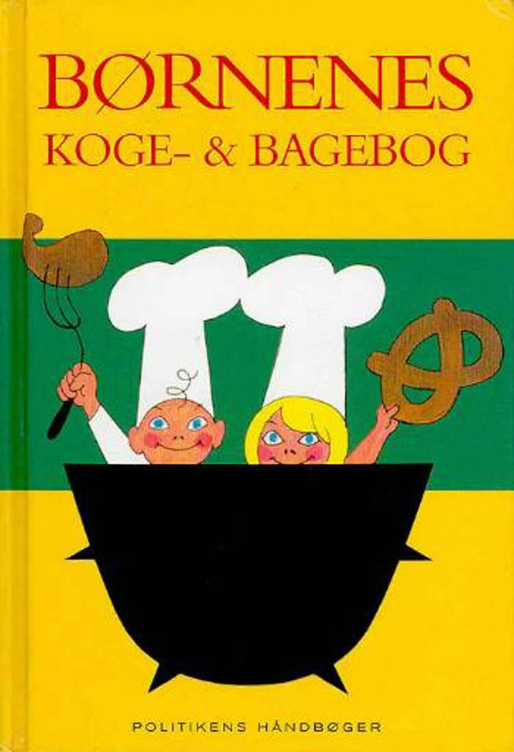 Børnenes koge- og bagebog af Hanne Flensborg Thomsen og Bodil Dørge