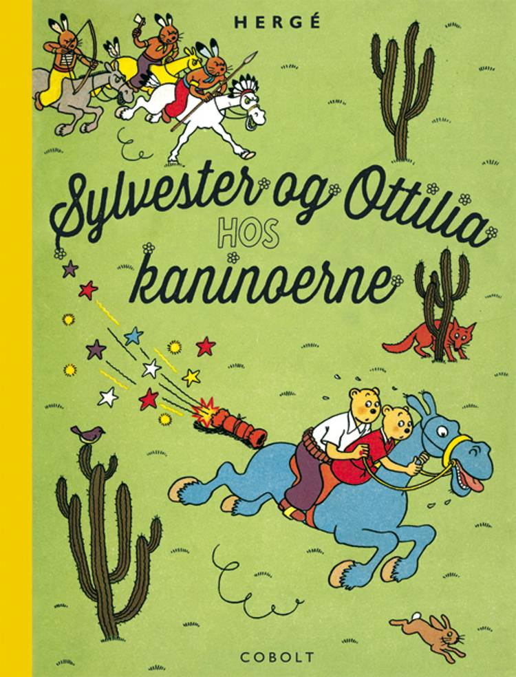 Sylvester og Ottilia hos kaninoerne af Hergé