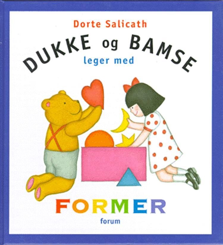Dukke og Bamse leger med former af Dorte Salicath