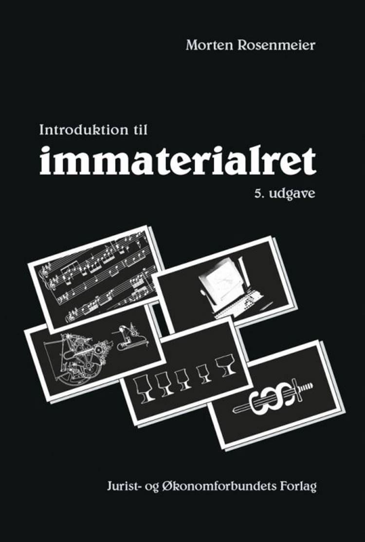 Introduktion til Immaterialret af Morten Rosenmeier