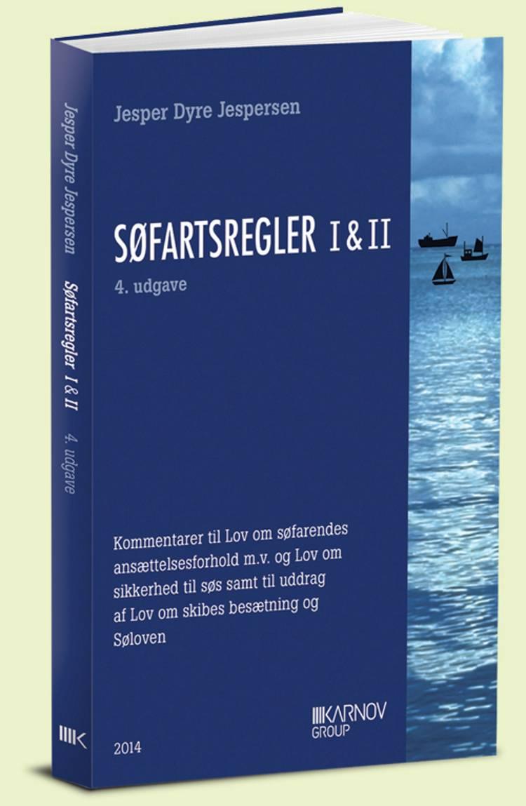 Søfartsregler I & II af Jesper Dyre Jespersen