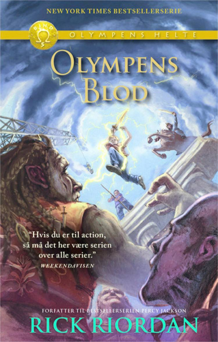 Olympens blod af Rick Riordan