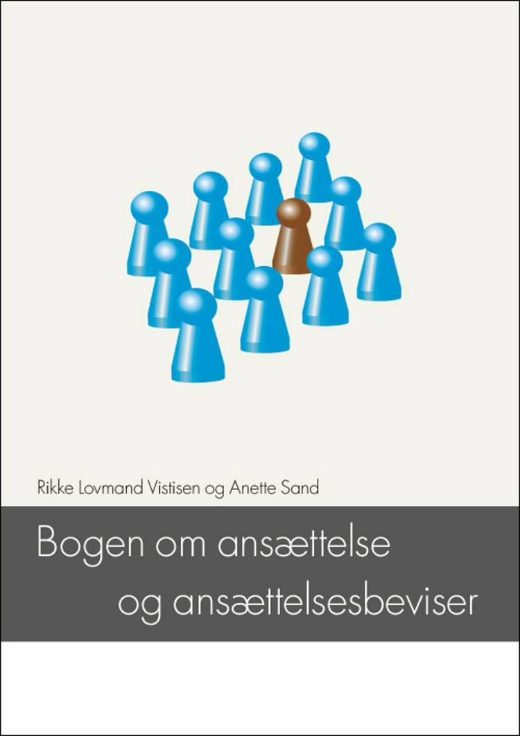 Bogen om ansættelse og ansættelsesbeviser af Anette Sand og Rikke Lovmand Vistisen