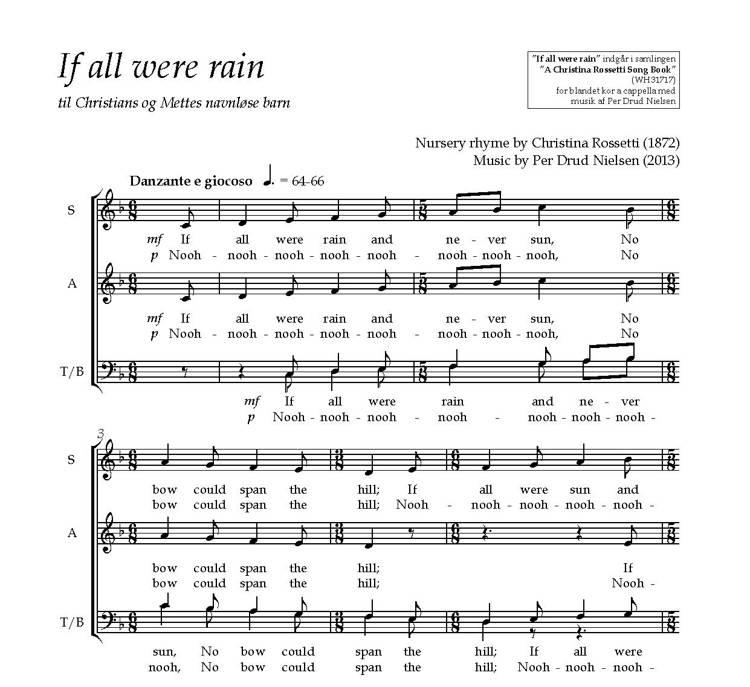 If all were rain af Per Drud Nielsen