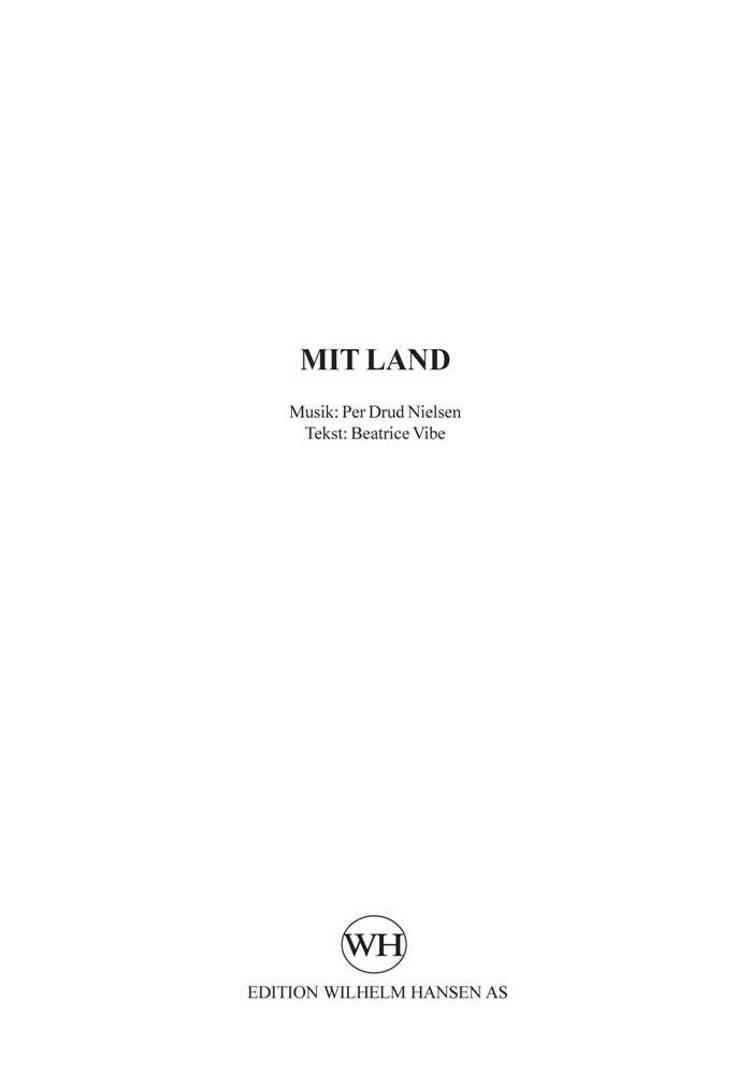 Mit land af Per Drud Nielsen