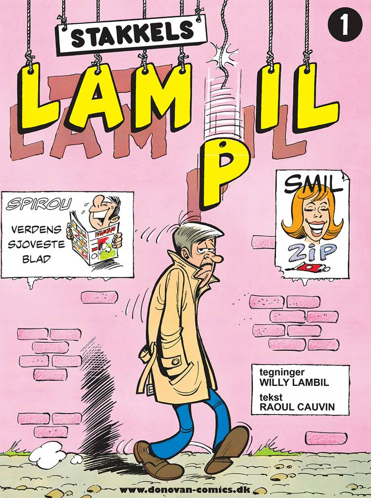 Stakkels Lampil af Raoul Cauvin