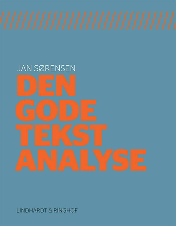 Den gode tekstanalyse af Jan Sørensen
