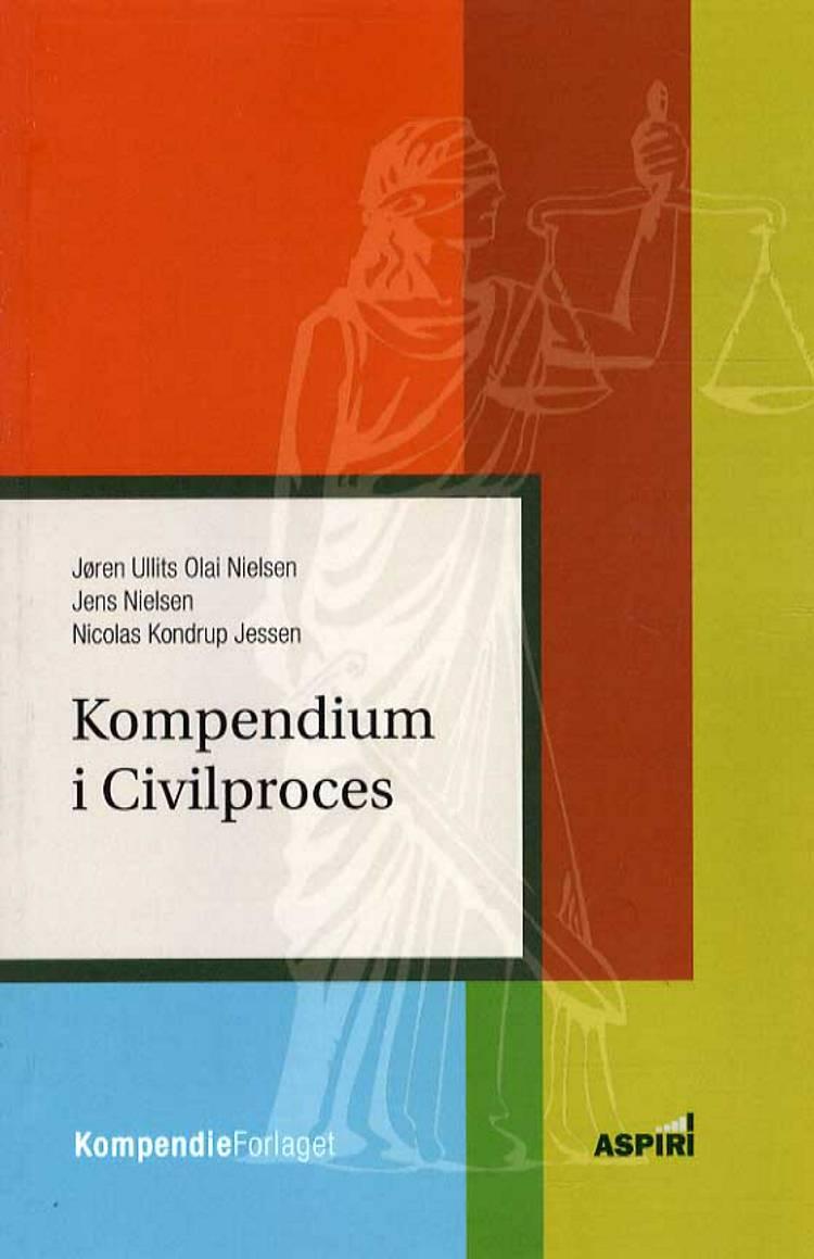 Kompendium i civilproces af Jørgen Ullits Nielsen