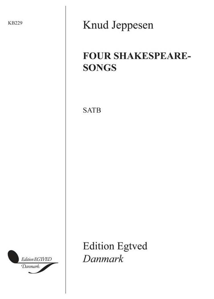 Four Shakespeare Songs af Knud Jeppesen