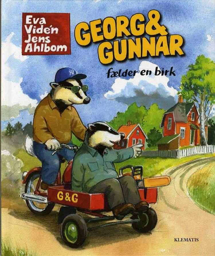 Georg & Gunnar fælder en birk af Eva Vidén