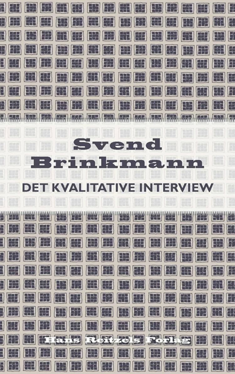 Det kvalitative interview af Svend Brinkmann