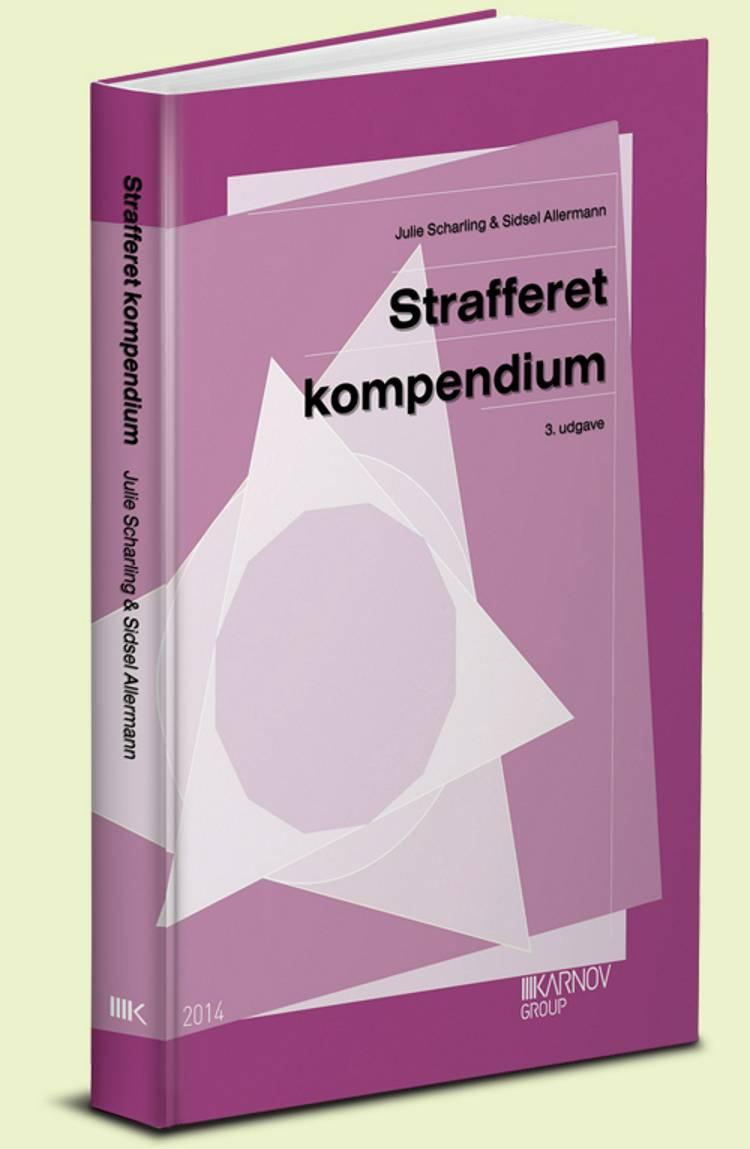 Strafferet - kompendium af Julie Scharling, Anne Marie Kogsbøll og Sidsel Allermann