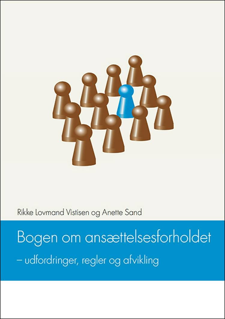 Bogen om ansættelsesforholdet af Anette Sand og Rikke Lovmand Vistisen