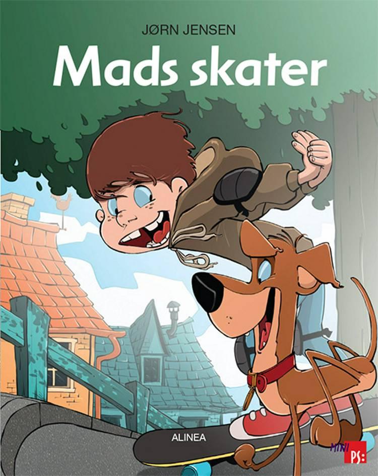 Mads skater af Jørn Jensen