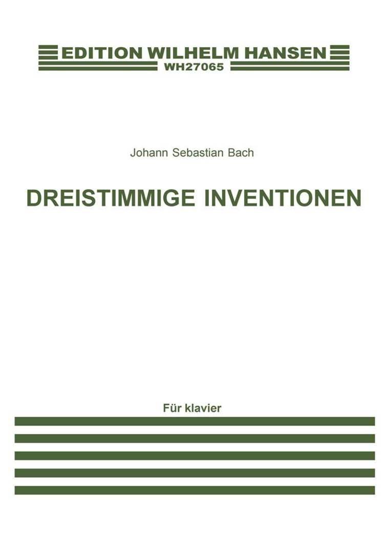 Dreistimmige Inventionen af Johann Sebastian Bach