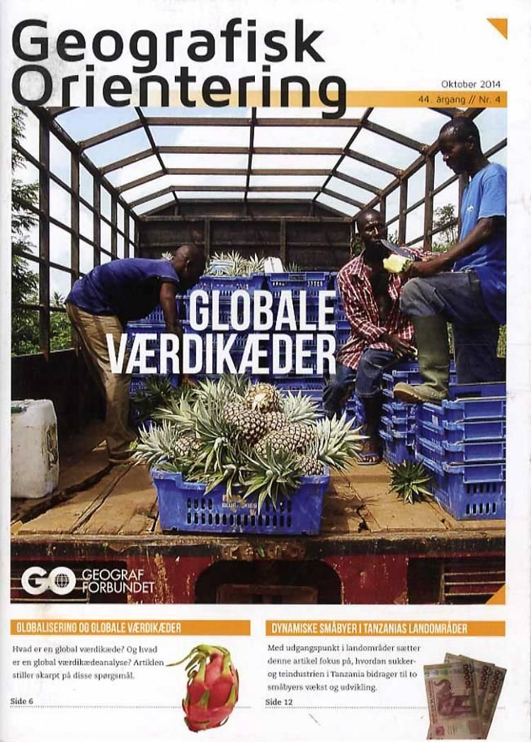 Geografisk Orientering 2014 - 4 af Geografforbundet