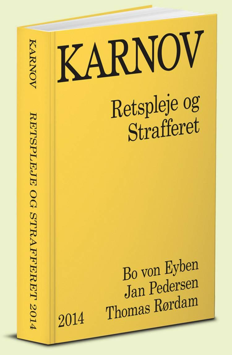 Karnov retspleje og strafferet af Jan Pedersen, Thomas Rørdam og Bo von Eyben