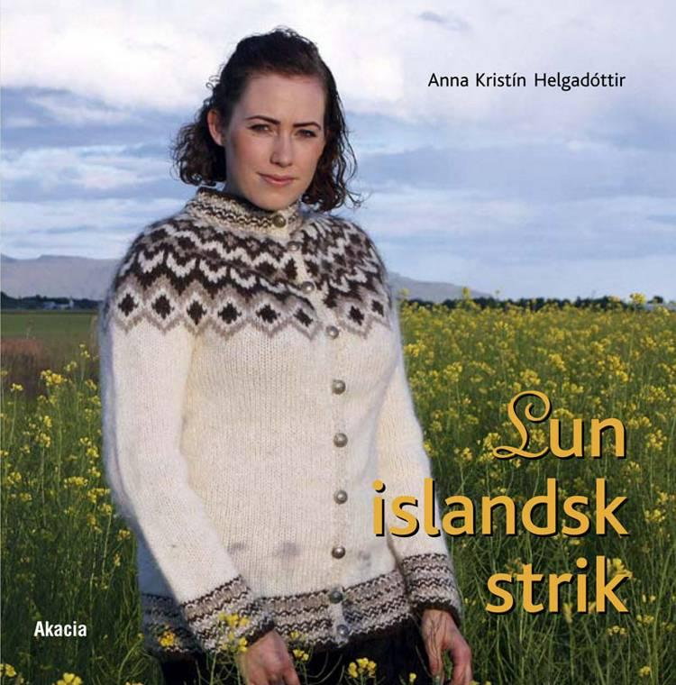 Lun islandsk strik af Anna Kristín Helgadóttir