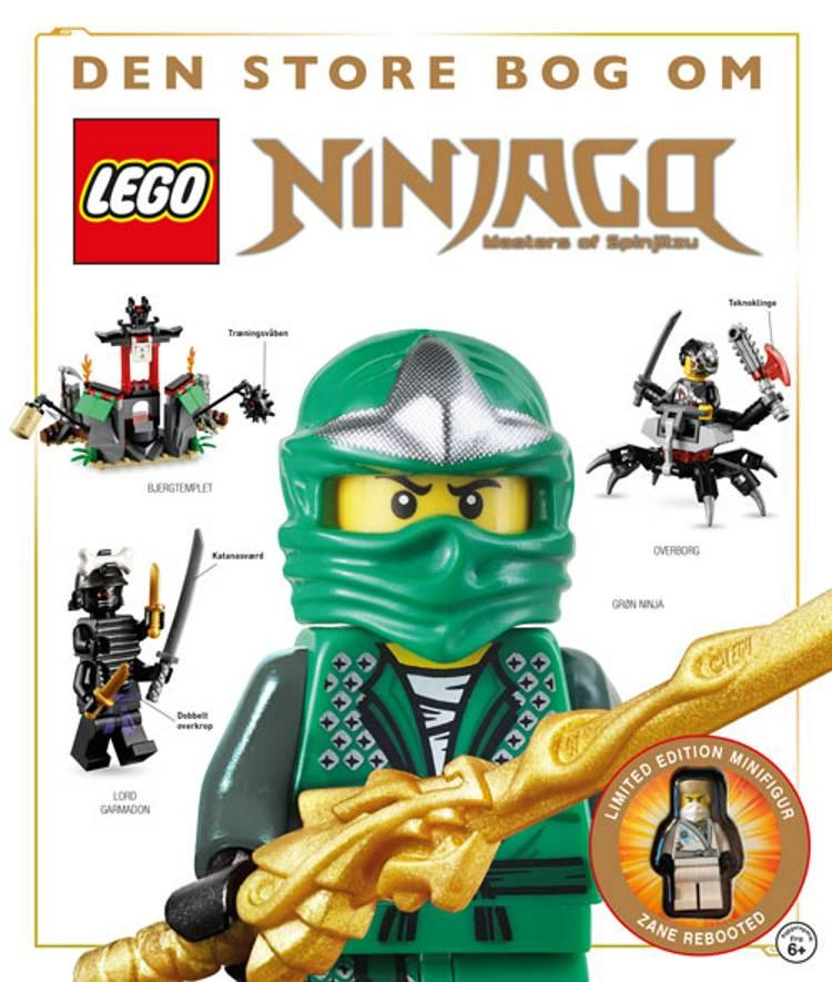Den store bog om LEGO Ninjago - masters of spinjitzu