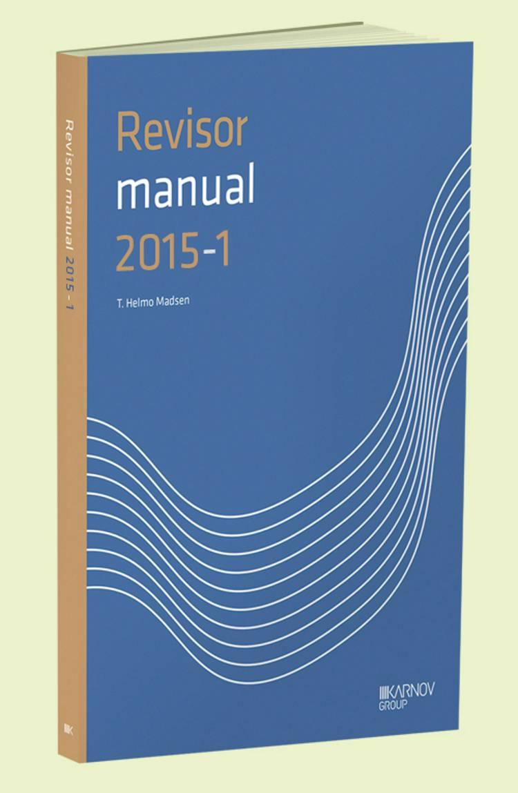 RevisorManual 2015/1 af T. Helmo Madsen