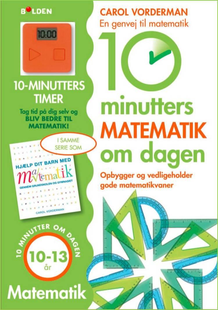 10 minutters matematik om dagen: 11-13 år