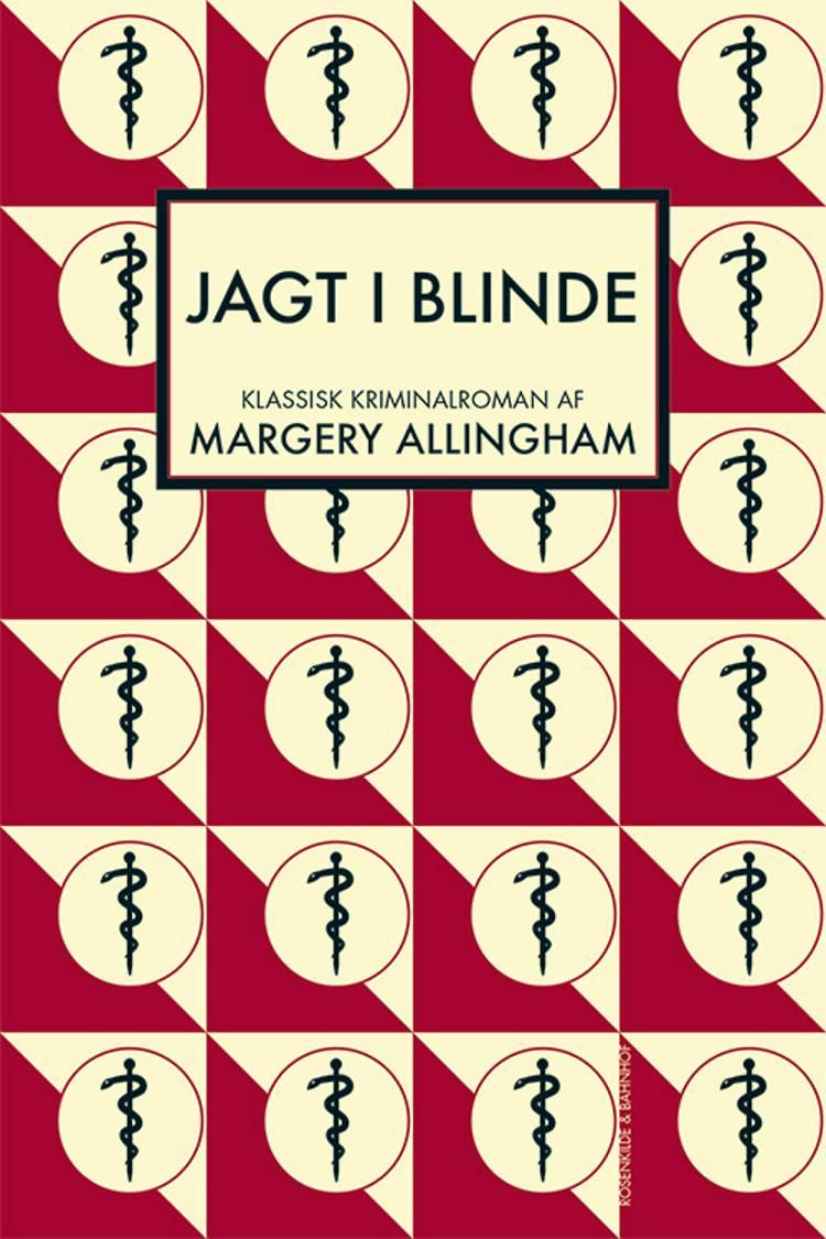 Jagt i blinde af Margery Allingham