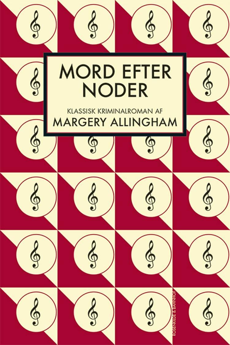 Mord efter noder af Margery Allingham