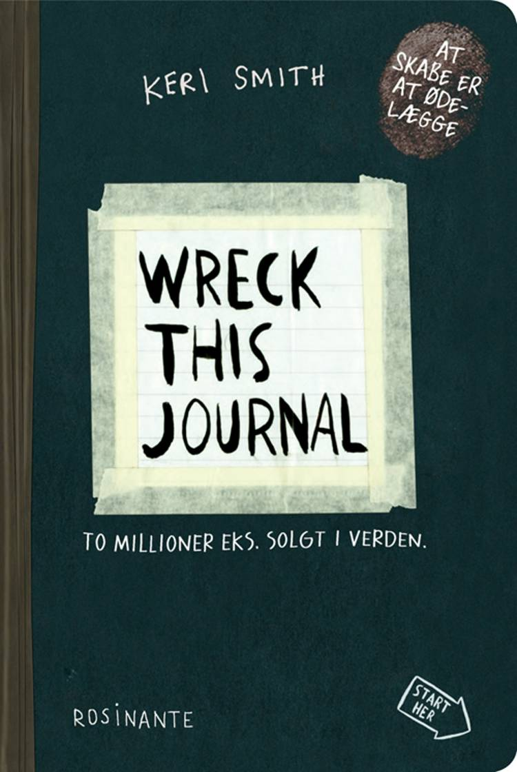 Wreck This Journal af Keri Smith
