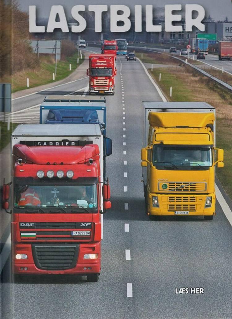 Lastbiler af Ole Steen Hansen