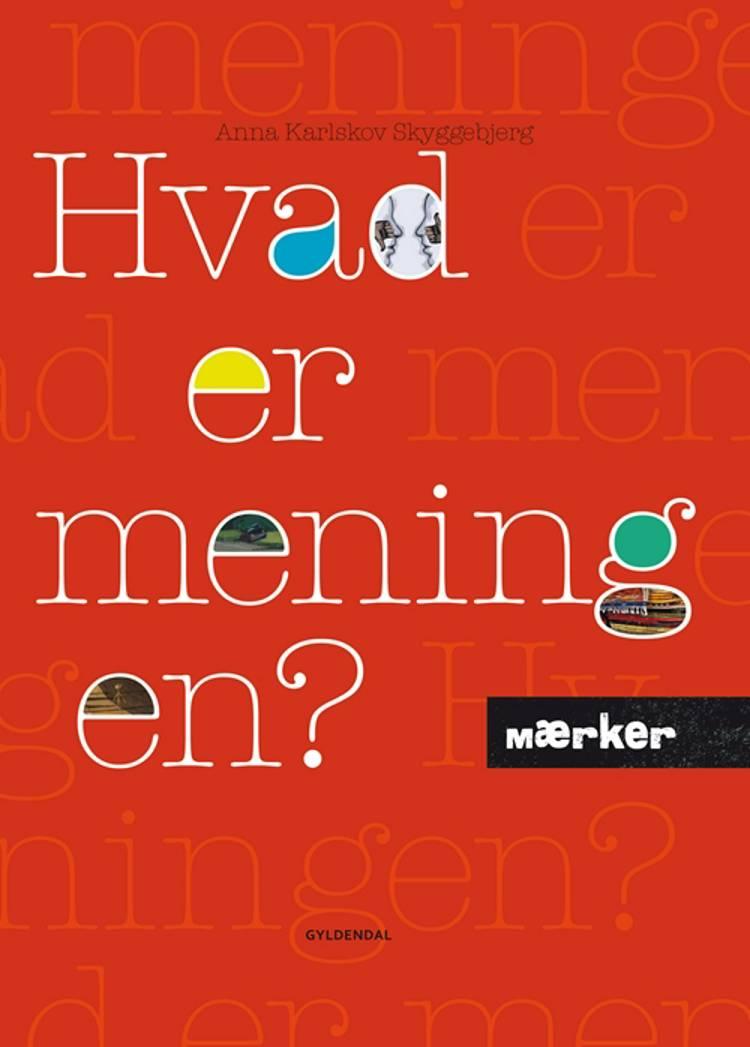 Hvad er meningen? af Anna Karlskov Skyggebjerg