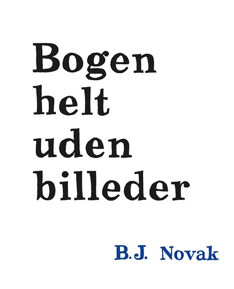 Bogen helt uden billeder af B.J. Novak