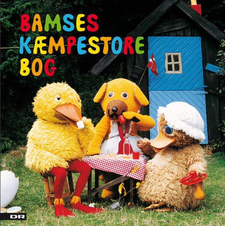 Bamses kæmpestore bog af Elin Bing