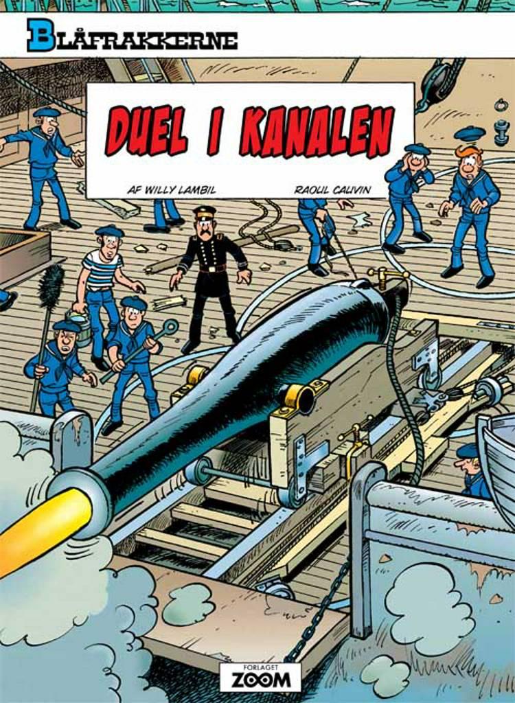 Duel i kanalen af Raoul Cauvin og Willy Lambil