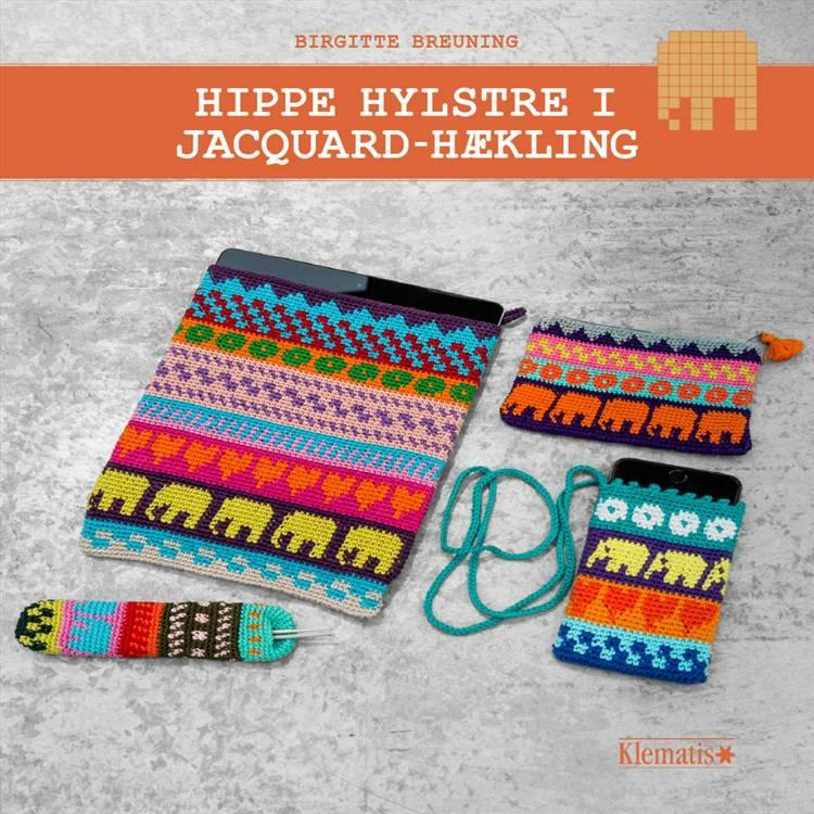 Hippe hylstre i jacquard-hækling af Birgitte Breuning